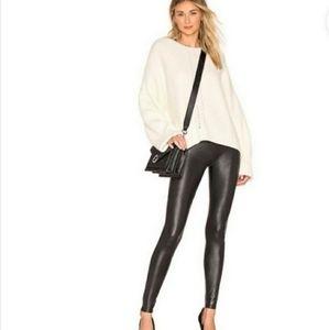 Spanx- Faux leather leggings